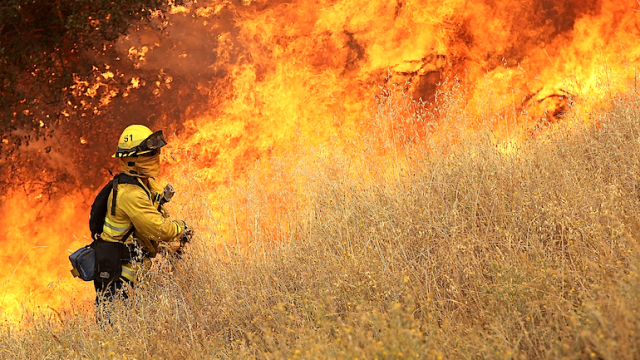 Wildfire Grows Rapidly In California's Lake County